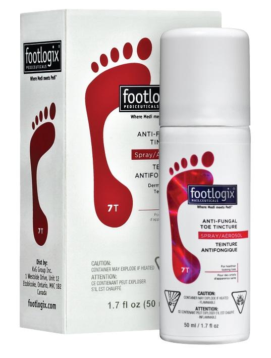 FOOTLOGIX �������� �������� ��� ������ (����-���������) / Anti-Fungal toe tincture spray 50��