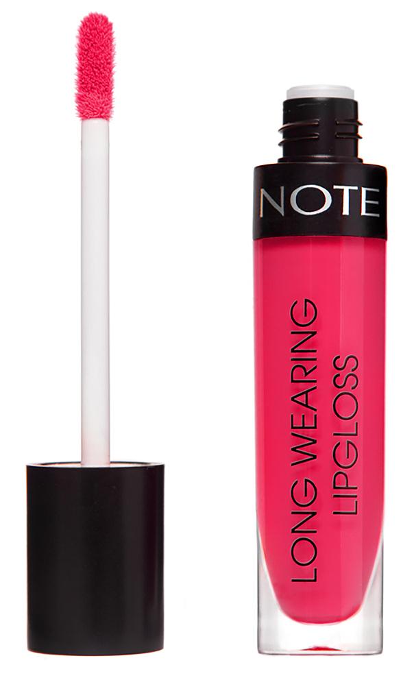 Купить NOTE Cosmetics Блеск стойкий для губ 15 / LONG WEARING LIPGLOSS 6 мл