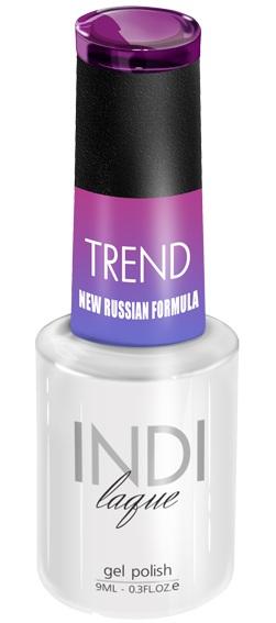 Купить RuNail 5020 гель-лак для ногтей / INDI laque Trend 9 мл, Фиолетовые
