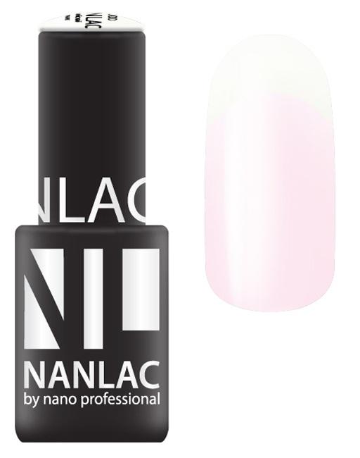 NANO PROFESSIONAL 1100 гель-лак для ногтей, супербелый / NANLAC 6 мл