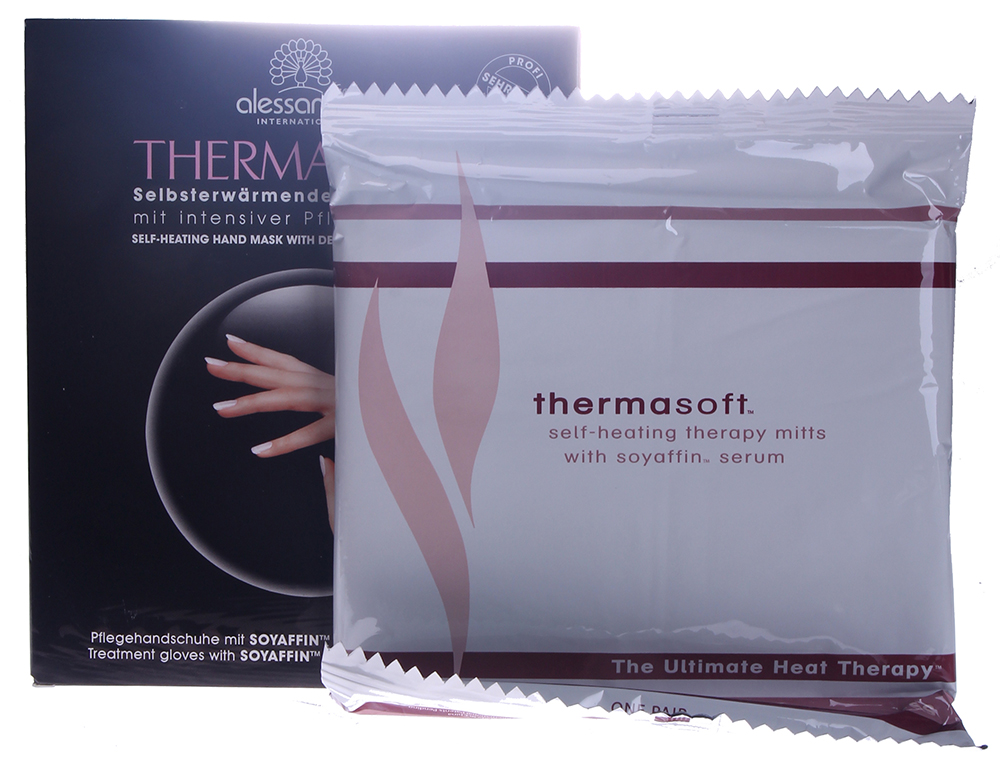 ALESSANDRO ����� ����������������� ��� ��� / Intensiv Mask For Hands THERMASOFT 1��