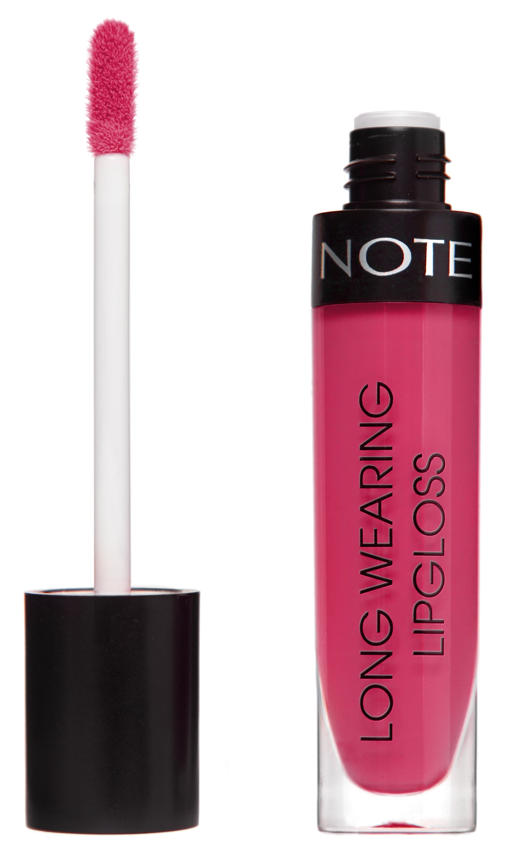 Купить NOTE Cosmetics Блеск стойкий для губ 12 / LONG WEARING LIPGLOSS 6 мл