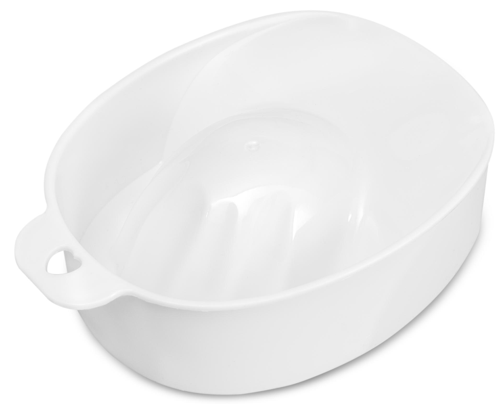 DOMIX Ванночка для маникюра, белая / DGP