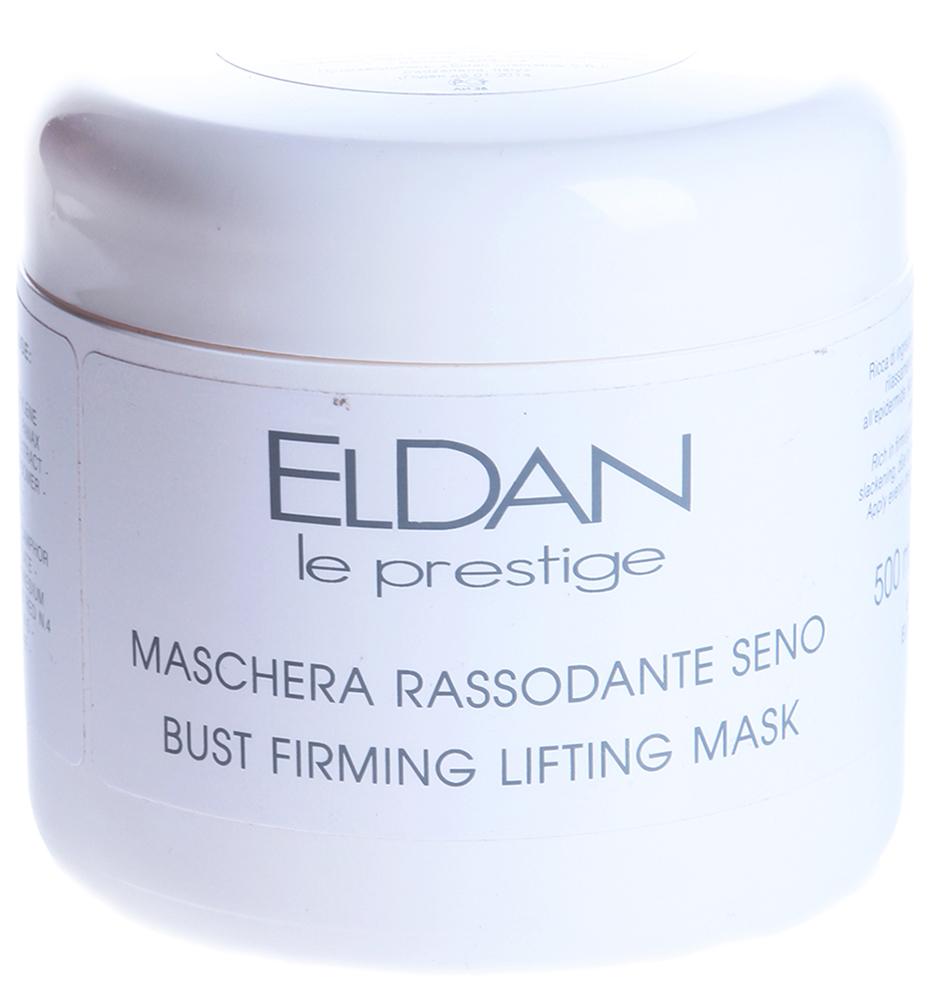 ELDAN Маска для укрепления и поднятия бюста / LE PRESTIGE 500млМаски<br>Тип кожи: для всех типов кожи Действие: Созданная на основе натуральных компонентов, маска обеспечивает интенсивный комплексный уход за кожей груди, обладает омолаживающими и стимулирующими свойствами, активизирует регенерацию клеток, регулирует водный баланс кожи, оказывает мощный лифтинг-эффект, снимает шелушение и раздражение кожи оказывает противовоспалительное, нормализующее действие, стимулирует кровообращение, укрепляет стенки капилляров В результате регулярного использования маски достигается великолепный омолаживающий эффект- ощутимое улучшение формы груди и ее упругости. Активные ингредиенты: Гидрогенизированное касторовое масло, экстракт центеллы, экстракт женьшеня, экстракт пшеницы, ментол, камфора. Способ применения: Равномерно нанести маску на чистую кожу груди и декольте, оставить на 10-15 минут, затем смыть теплой водой. Применять 2 раза в неделю. Желательно применять совместно с плёночным обёртыванием. Используется в процедурах: Лифтинг - уход за бюстом Уход Антистресс для ног<br><br>Вид средства для тела: Интенсивный
