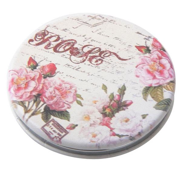 DEWAL BEAUTY Зеркало Классическая мода карманное, круглое, d 6 см