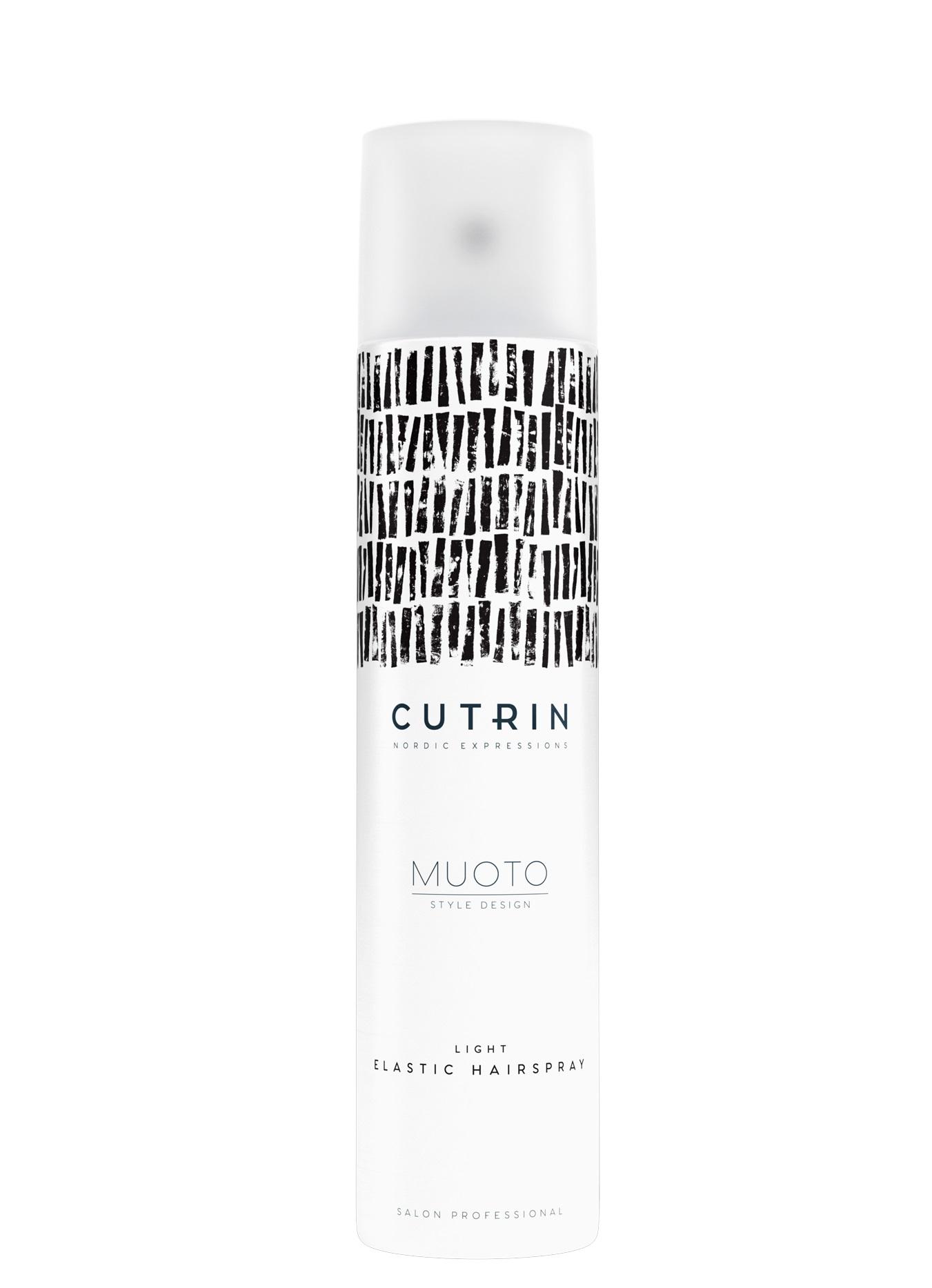 CUTRIN Лак легкой эластичной фиксации / MUOTO LIGHT ELASTIC HAIRSPRAY 300 мл.
