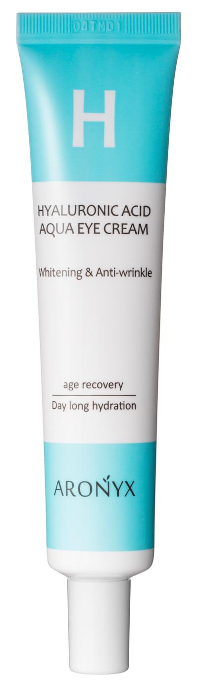 Купить MEDI FLOWER Крем увлажняющий с гиалуроновой кислотой и пептидами для кожи вокруг глаз / Aronyx 40 мл