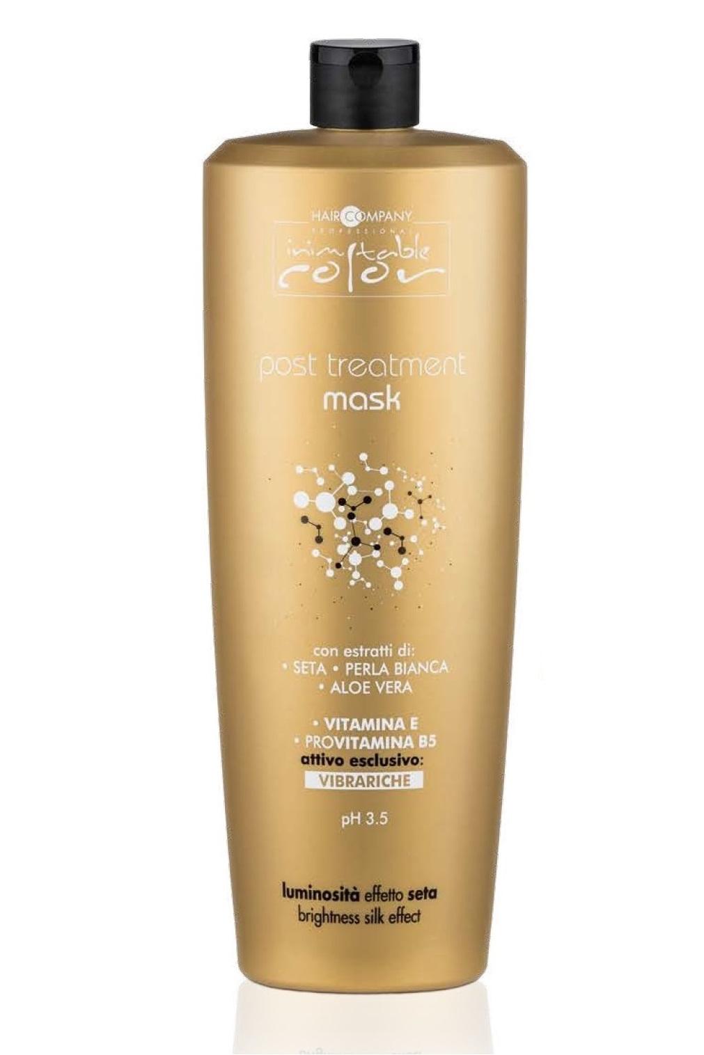 Купить HAIR COMPANY Маска для восстановления структуры волос после химического воздействия / INIMITABLE COLOR Post Treatment Mask 1000 мл