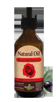 MADIS Масло натуральное с экстрактом розы / HerbOlive 100 мл