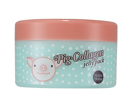 HOLIKA HOLIKA Маска ночная для лица Пиг-коллаген джелли пэк / Pig-Collagen jelly pack 80гр маска holika holika ночная маска для лица пиг коллаген джелли пэк holika holika