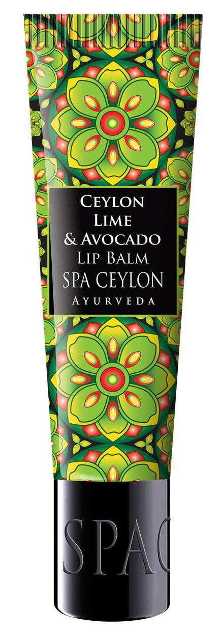 Купить SPA CEYLON Бальзам питательный для губ Цейлонский лайм и авокадо 12 г