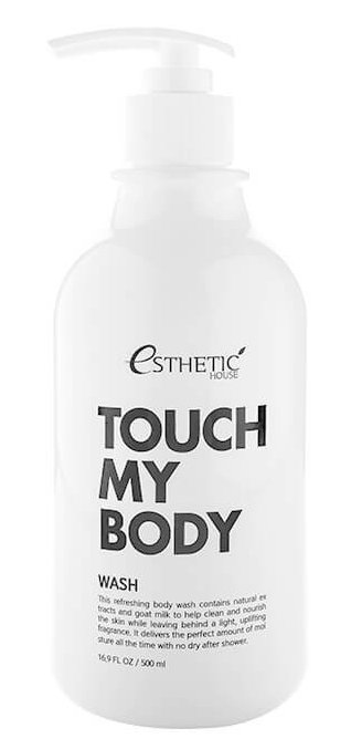 Купить ESTHETIC HOUSE Гель с козьим молоком для душа / TOUCH MY BODY GOAT MILK BODY WASH 500 мл
