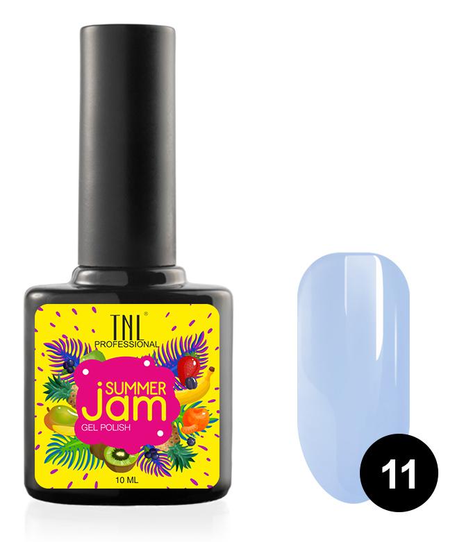 Купить TNL PROFESSIONAL 11 гель-лак для ногтей, неоновый светло-сиреневый / Summer Jam 10 мл, Синие