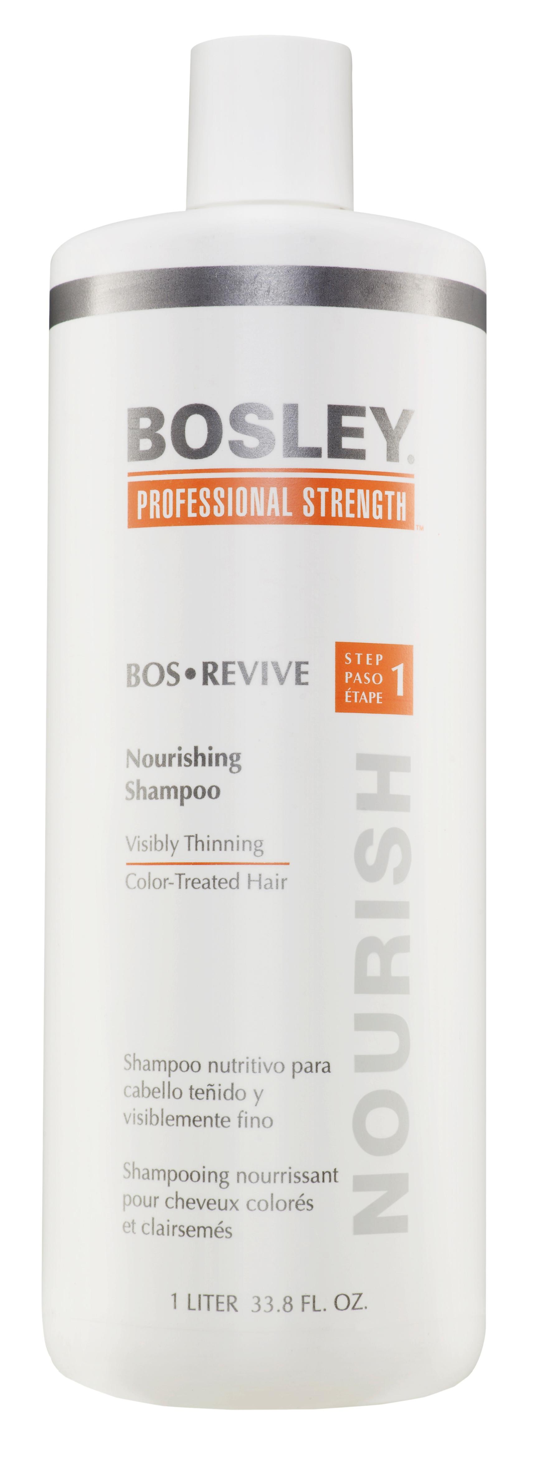BOSLEY Шампунь питательный для истонченных окрашенных волос / ВОS REVIVE (step 1) 1000мл