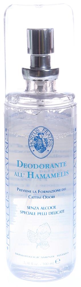 HORTUS FRATRIS Спрей-дезодорант / DEODORANTE all'HAMAMELIS V 100мл от Галерея Косметики