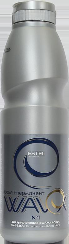 ESTEL PROFESSIONAL Лосьон-перманент № 1 для трудноподдающихся волос / WAVEX 500 мл