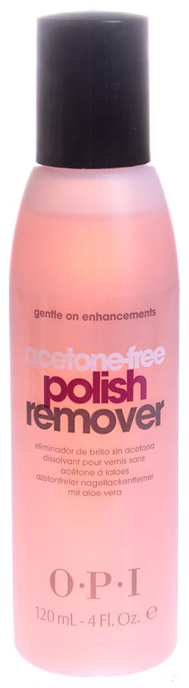OPI Жидкость без ацетона для снятия лака с искусственных ногтей / Non-Acetone Polish Remover 120 мл