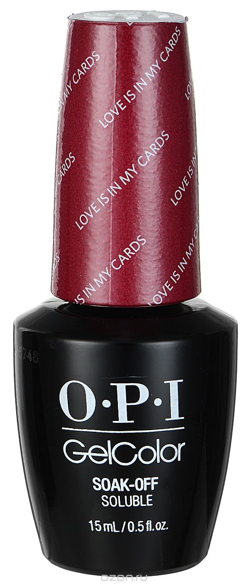 """OPI ����-��� ��� ������ """"Love is in My Cards"""" / GELCOLOR 15��~"""