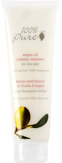 100% PURE Крем-пенка органическая очищающая с аргановым маслом для лица 100 мл