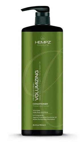 HEMPZ Кондиционер для объема / Volumizing Conditioner 750млКондиционеры<br>Кондиционер для объема Volumizing Conditioner - это легкий кондиционер, который придает пышность и обеспечивает необходимое питание волосам. Содержит уникальный комплекс Hempz Volumizing Complex , способствующий усилению роста волос и предотвращающий ломкость. Чистое масло и экстракт семян конопли способствует образованию кератина, обеспечивающего блеск, здоровье и прочность волос. Защищает волосы от повреждений при использовании фена или щипцов и сохранению цвета от воздействия UV лучей. Активные ингредиенты: Hempz Volumizing Complex , масло конопли, экстракт семян конопли.&amp;nbsp; Способ применения: нанести на чистые влажные волосы, выдержать 3-5 минут, смыть теплой водой.<br><br>Вид средства для волос: Стимулирующий