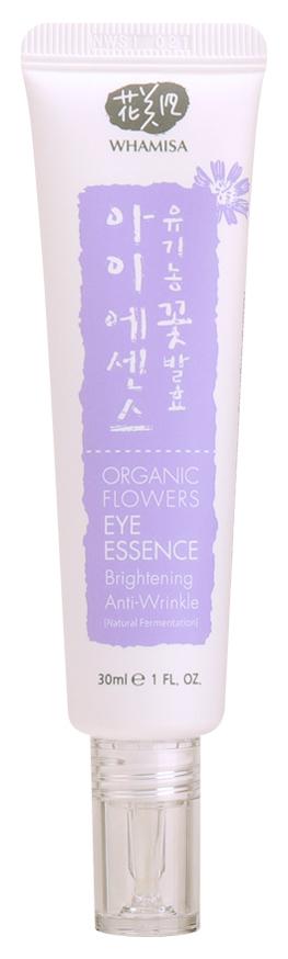 Купить WHAMISA Эссенция на основе цветочных ферментов от морщин и потемнений для кожи вокруг глаз 30 мл