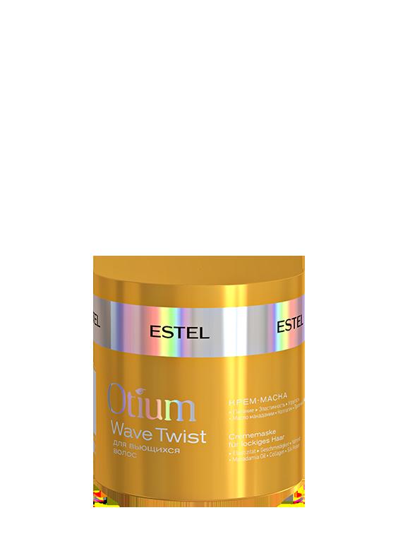 ESTEL PROFESSIONAL Крем-маска для вьющихся волос / OTIUM Twist 300мл estel otium twist крем шампунь для вьющихся волос 250 мл