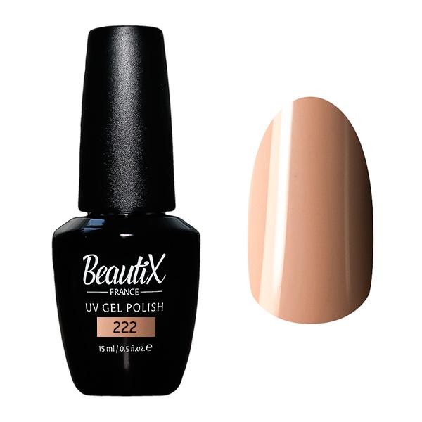 Купить BEAUTIX 222 гель-лак для ногтей 15 мл, Коричневые