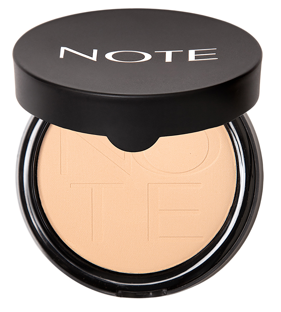 Купить NOTE Cosmetics Пудра компактная с эффектом сияния 02 / LUMINOUS SILK COMPACT POWDER 10 г