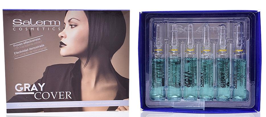 Купить SALERM COSMETICS Средство для лучшего окрашивания седых волос / Gray Cover 12*5 мл