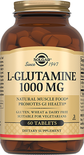 SOLGAR L-Глутамин, таблетки 1000 мг № 60