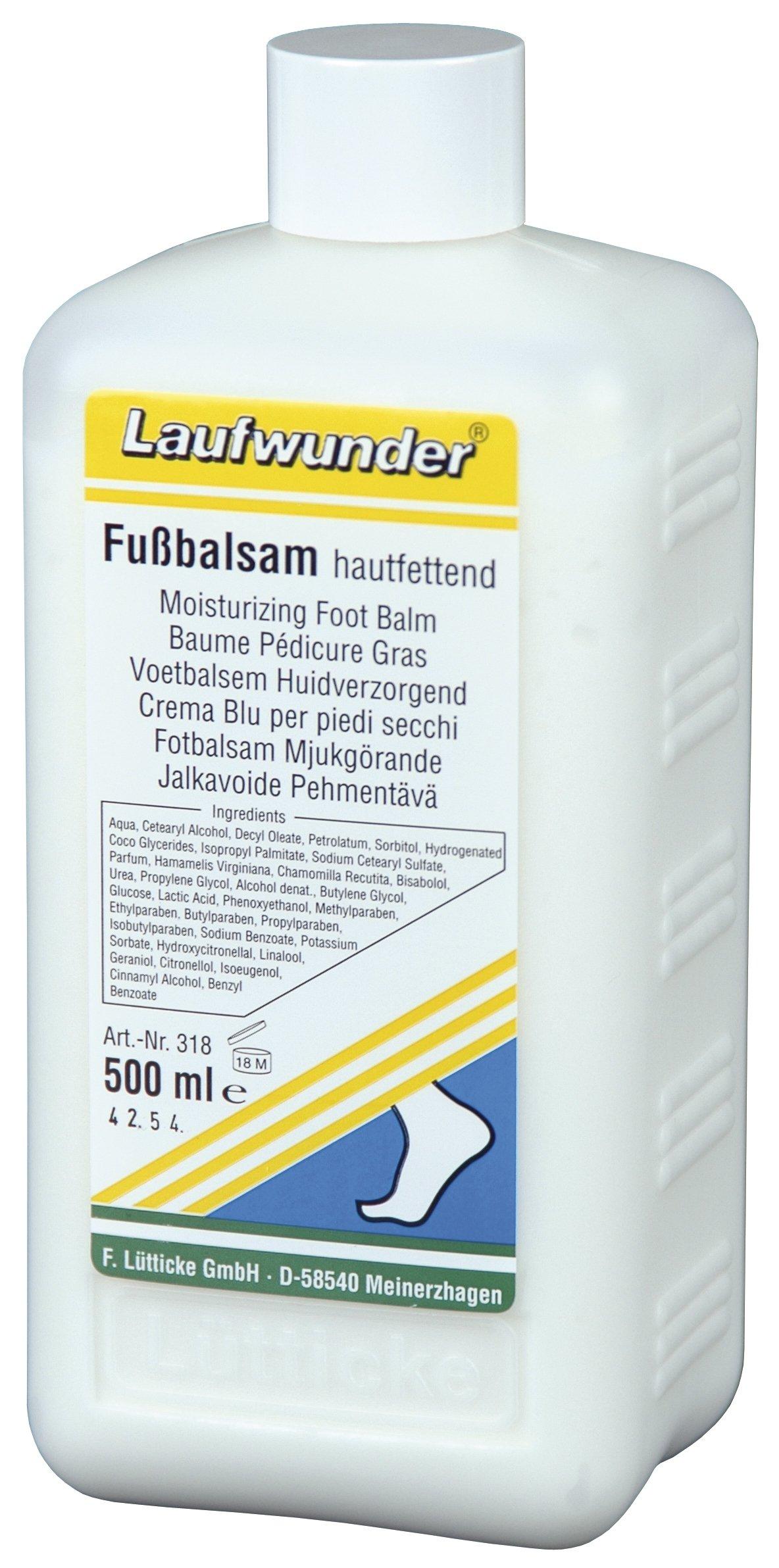 LAUFWUNDER Бальзам увлажняющий для ног 500 мл.
