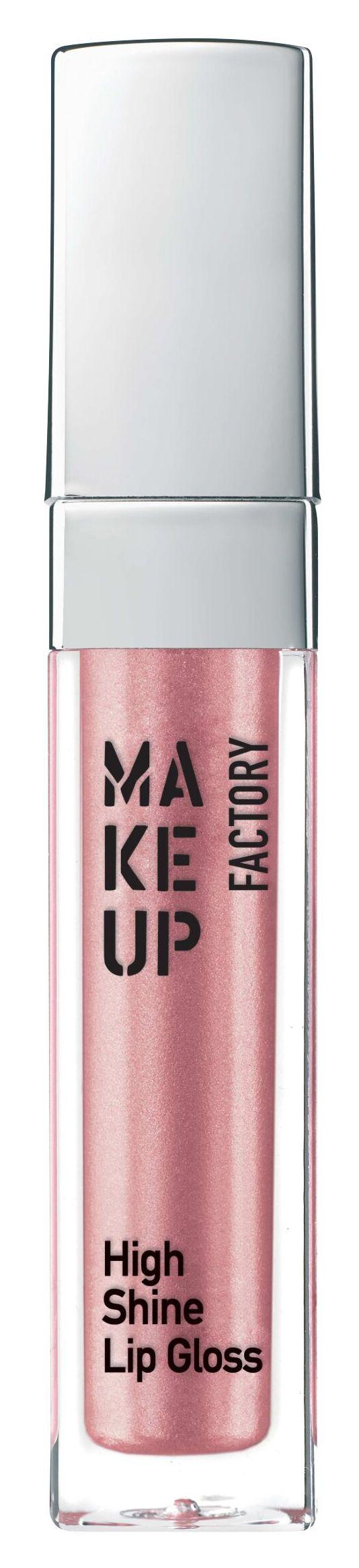 Купить MAKE UP FACTORY Блеск с эффектом влажных губ, 20 розовая глазурь / High Shine Lip Gloss 6, 5 мл