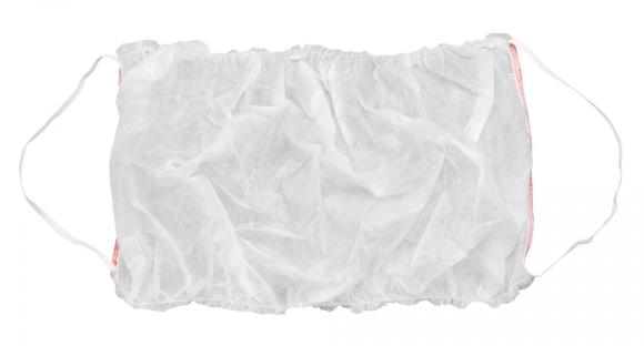 IGROBEAUTY Топик с открытой спиной, на двух резинках, цвет белый 10 шт