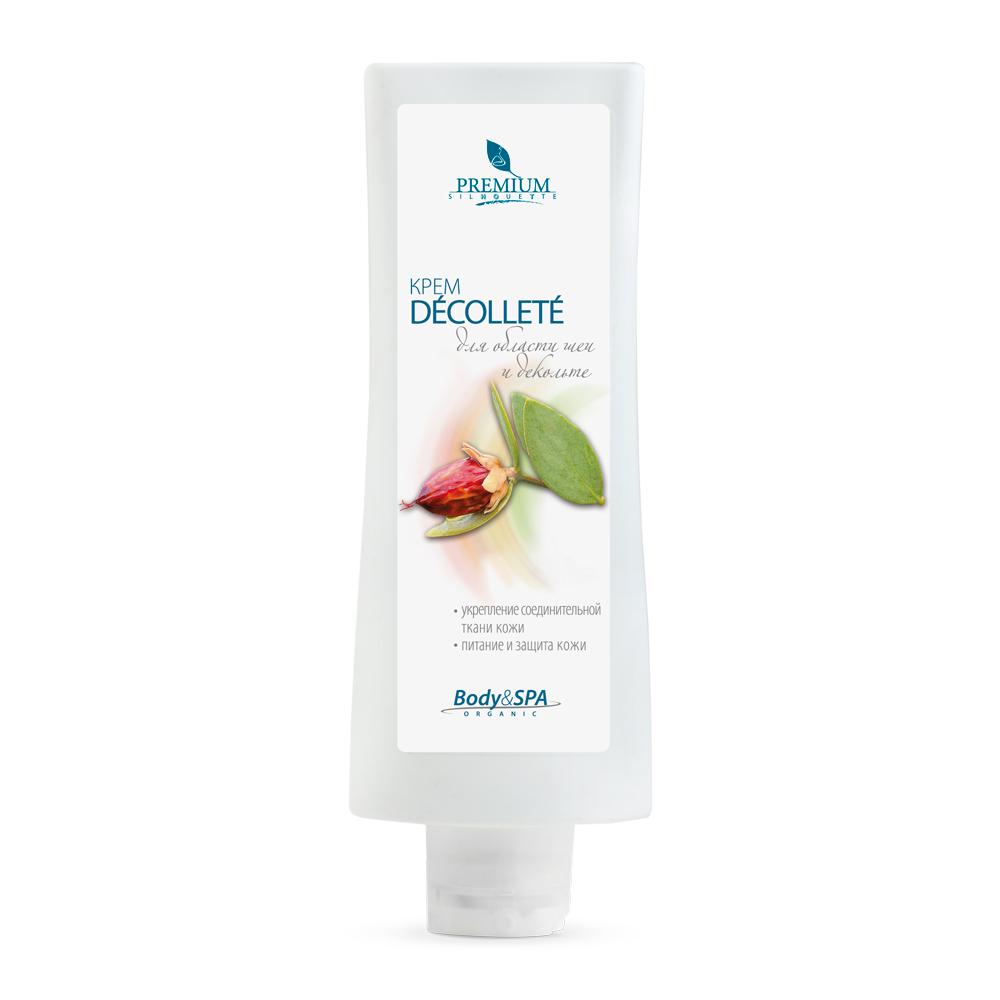 PREMIUM Крем для области шеи и декольте Decollete / Silhouette 200млКремы<br>Предназначен для бережного ухода за кожей грудной клетки, плеч и шеи. Комплекс на основе гликозаминогликанов, флавоноидов, натуральных масел и витаминов стимулирует синтез эластина и коллагена, предохраняет ткани от негативного действия свободных радикалов, способствует укреплению соединительной ткани, восстановлению липидного барьера. Активные ингредиенты: Puеraria Mirfica корень; MDI-Complex; масла: жожоба, оливы, карите; Prodew 400; трихалоза; витамины: С, Е; пантенол.<br><br>Объем: 200<br>Назначение: Обезвоживание
