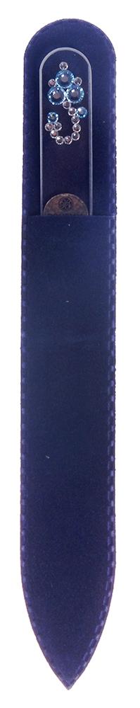 BOHEMIA PROFESSIONAL Пилочка стеклянная прозрачная Змейка 135ммПилки для ногтей<br>Нет ничего лучше для натуральных ногтей, чем пилка из богемского хрусталя. Данный материал имеет практически неограниченный срок использования. Пилки Bohemia Professional имеют наиболее стойкий абразив. Пилка из богемского хрусталя также может стать стильным аксессуаром или красивым подарком. Bohemia Professional представляет Вам огромный выбор прозрачных и цветных пилок с декором: ручная роспись, декорация стразами, пилки с логотипом, и полноцветные изображения. Инструмент можно стерилизовать и обрабатывать химическими дезинфекторами, антисептиками.<br>