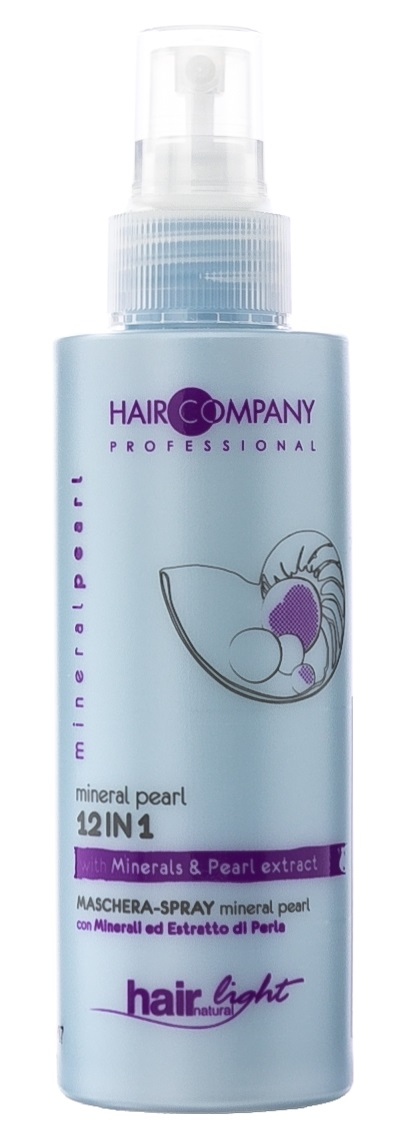 HAIR COMPANY Маска-спрей несмываемая 12 в 1, с минералами и экстрактом жемчуга / HAIR LIGHT MINERAL PEARL 12 in 1, 150 мл фото