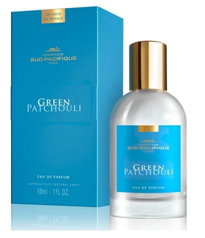 COMPTOIR SUD PACIFIQUE Вода парфюмированная Зеленый пачули / LES EAUX DE VOYAGE 30 мл -  Парфюмерия