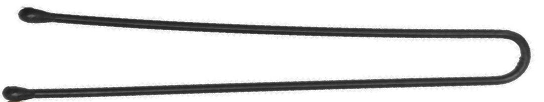 DEWAL PROFESSIONAL Шпильки черные, прямые 60 мм, 60 шт/уп (на блистере)