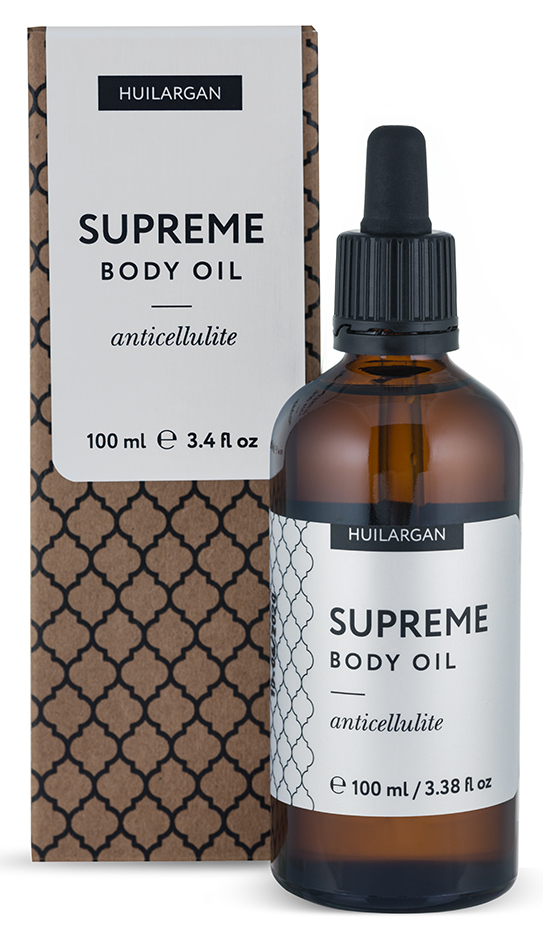 Huilargan масло антицеллюлитное для тела / supreme body oil anticellulite 100 мл