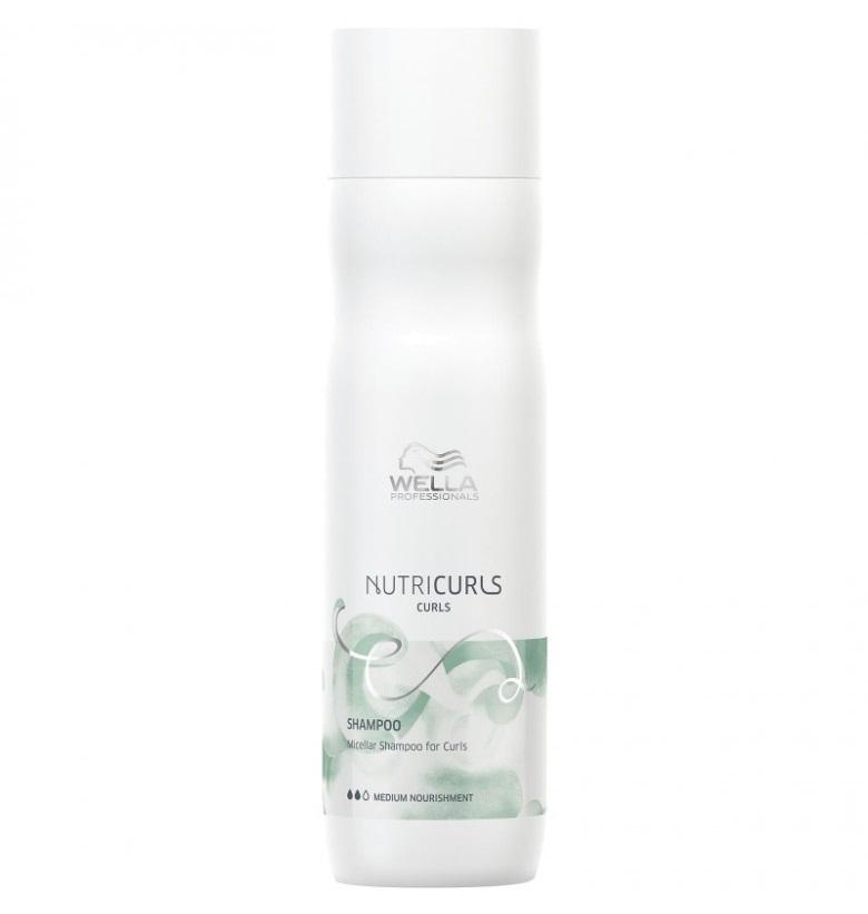 Купить WELLA PROFESSIONALS Шампунь мицеллярный для кудрявых волос / Nutricurls 250 мл