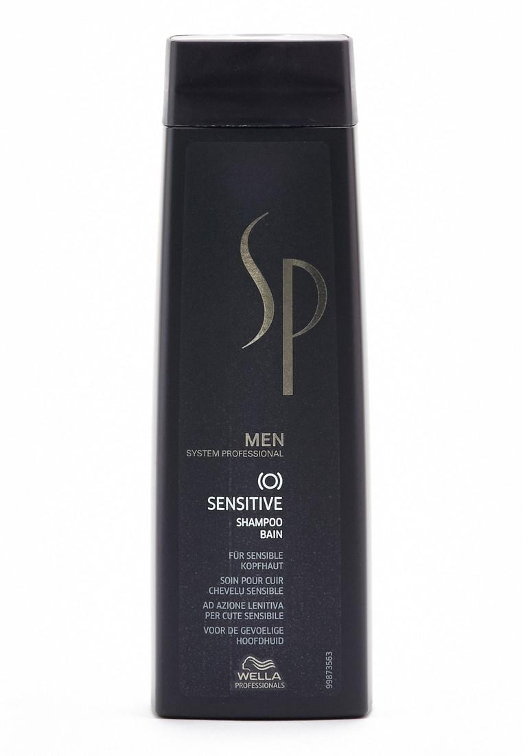 Купить со скидкой WELLA SP Шампунь для чувствительной кожи головы, для мужчин / Sensitive Shampoo 250 мл