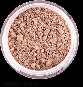 FRESH MINERALS Пудра-основа рассыпчатая с минералами Ivory (с пуховкой) / Mineral Powder Foundation 6гр