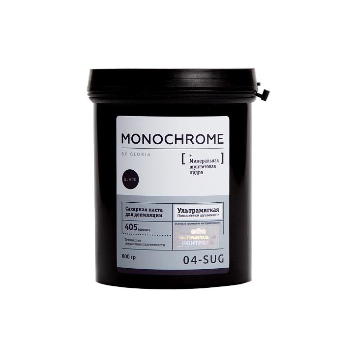 GLORIA Паста сахарная ультрамягкая для депиляции / Monochrome 0,8 кг - Сахарные пасты