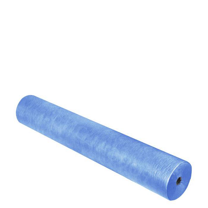 Купить DOMIX Простыня SMS 20 80*200 см голубая Комфорт 100 шт/рулон