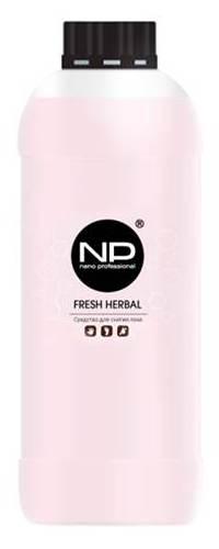 Купить NANO PROFESSIONAL Средство для снятия лака / Fresh Herbal 1000 мл