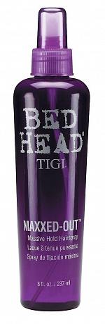 TIGI Cпрей для сильной фиксации и блеска волос / BED HEAD Maxxed Out 236 мл