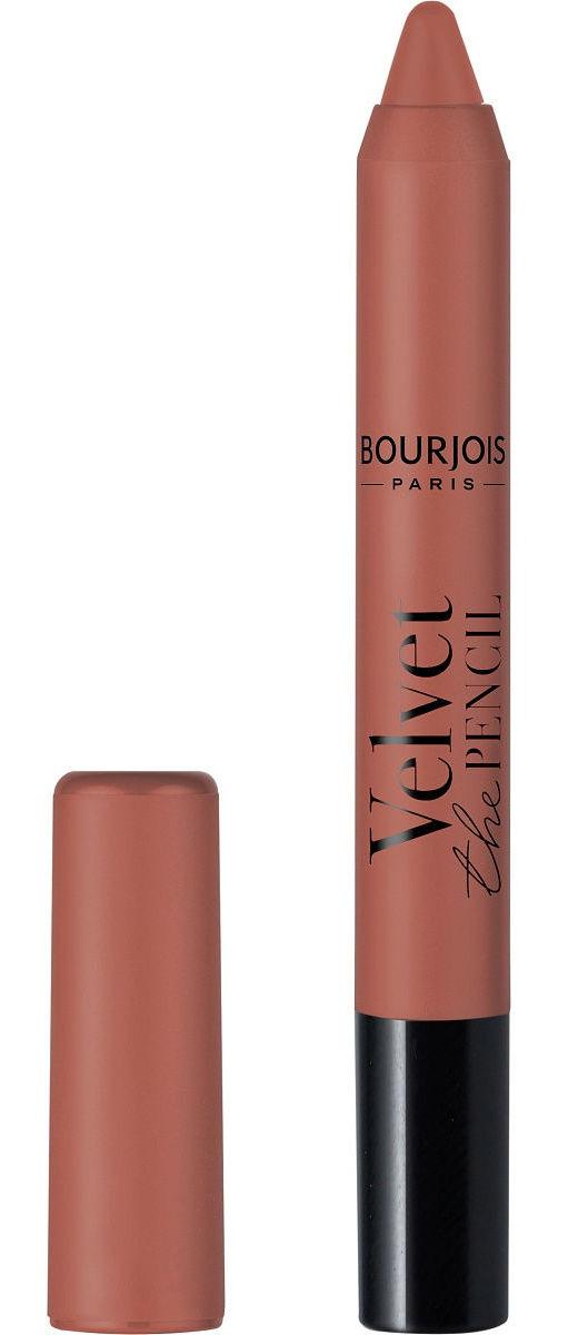 Купить BOURJOIS Помада-стик для губ 02 / Velvet The Pencil Matte Lipstick 3 г