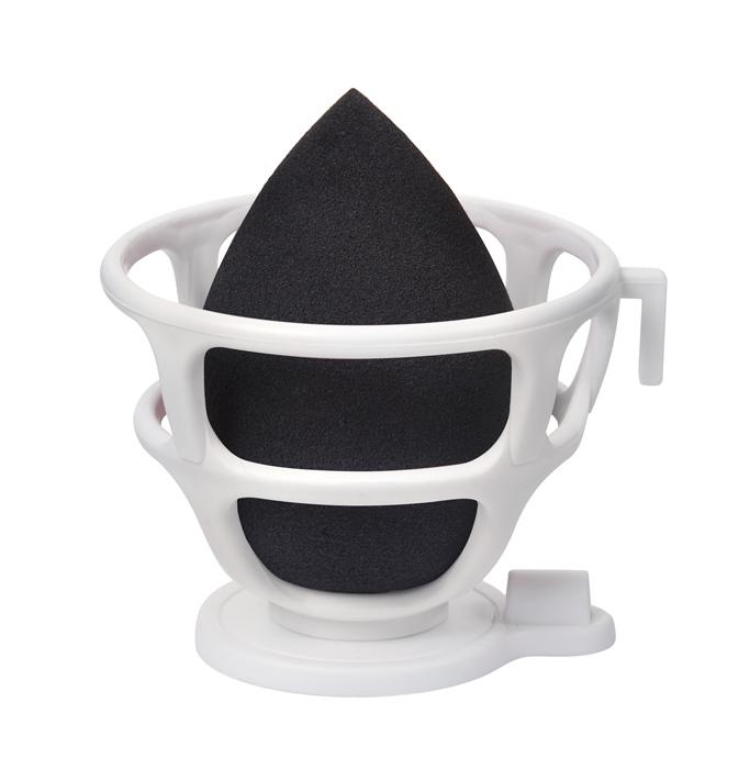 Купить LIMONI Спонж для макияжа в наборе с корзинкой / Blender Makeup Sponge Black