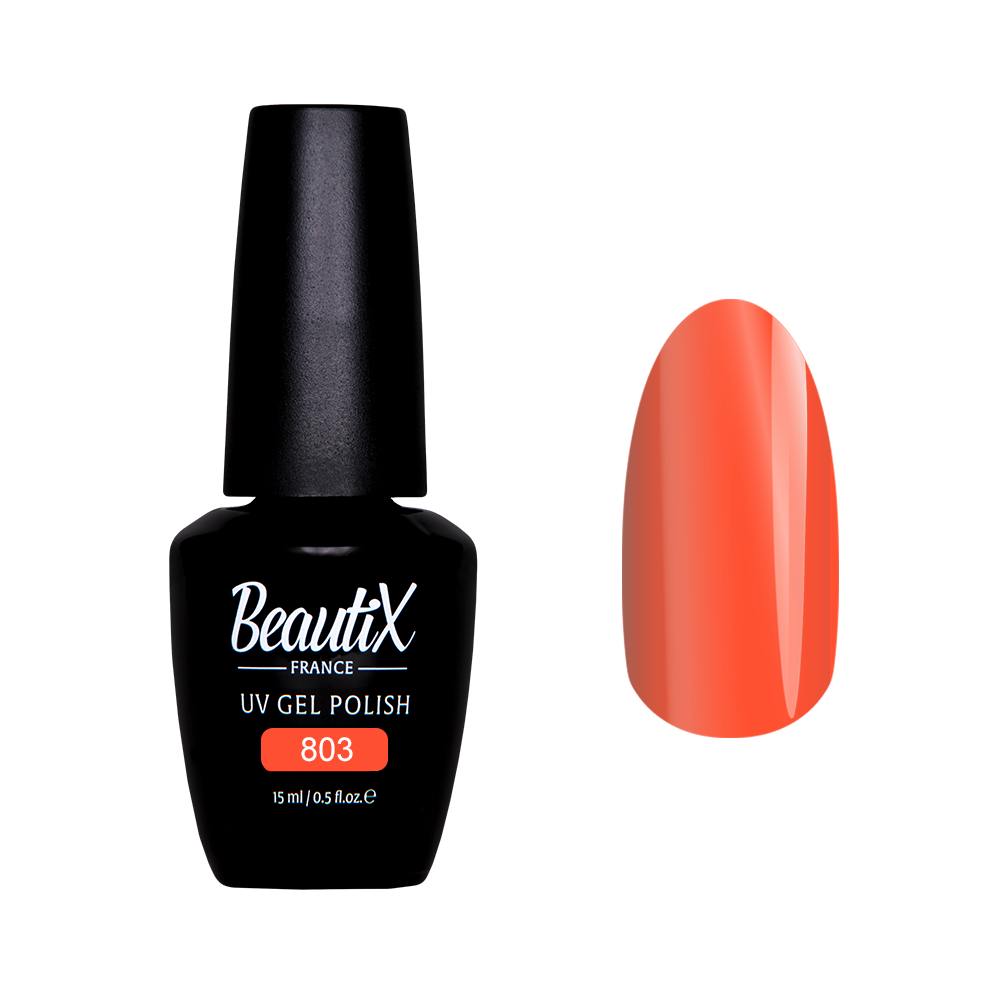 Купить BEAUTIX 803 гель лак для ногтей 15 мл