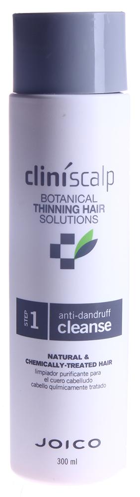 JOICO Шампунь очищающий от перхоти / Anti Dandruff Shampoo 300млШампуни<br>Шаг 1 - СИСТЕМА УХОДА ДЛЯ ВСЕХ ТИПОВ ВОЛОС Шампунь очищает кожу головы от перхоти, ДГТ и загрязнений, которые могут вызвать потерю волос. Средство создает нужные условия для оздоровления и уплотнения волос. Активные ингредиенты: цинк пиритион помогает бороться с перхотью. Биотин, витамин Б6 и крапива питают кожу головы и выводят ДГТ. Антиоксиданты витамин А, витамин Е и гинкго билоба нейтрализуют разрушающее действие свободных радикалов. Мятный бальзам и хмелевые шишки охлаждают, смягчают и состояние кожи головы. Масло листьев перечной мяты создает оптимальные условия для роста здоровых волос. Способ применения: нанесите на мокрые волосы и кожу головы, вспеньте, затем тщательно смойте. Для наилучшего результата завершите уход с помощью Кондиционера питательного для натуральных или окрашенных волос.<br><br>Вид средства для волос: Очищающий